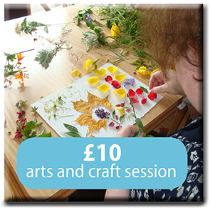 £10 Arts and craft session